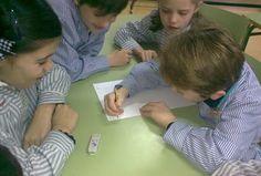 Aprendizaje cooperativo. Folio giratorio. Cooperative Learning Strategies, Visual Learning, Flipped Classroom, Group Work, Teacher Tools, Too Cool For School, Best Teacher, Teamwork, Classroom Management