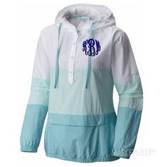 Harborside™ Windbreaker Jacket in Blueglass but not that color thread for monogram
