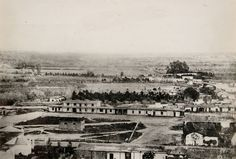 This image is widely considered the earliest-known photograph of Los Angeles. Courtesy of the Braun Research Library Collection, Autry National Center.