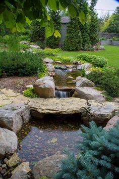 Aquascape is the leading manufacturer of water features, water garden, pondless fountains, and pond products. Get your water feature from Aquascape! Backyard Stream, Garden Stream, Backyard Water Feature, Ponds Backyard, Backyard Waterfalls, Garden Ponds, Koi Ponds, Garden Hose, Backyard Ideas