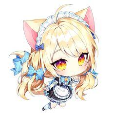Chibi Sketch, Anime Sketch, Cute Anime Chibi, Kawaii Anime Girl, Pokemon Printables, Kawaii Chan, Anime Friendship, Chibi Characters, Chibi Girl