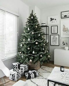 inspirao decorao de natal minimal christmas christmas tree simple silver christmas tree christmas