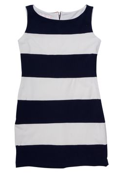 Biscotti and Kate Mack Striped Dress, Navy And White, Stripes, Biscotti, Comfy, Ballet Flats, Tennis, Tank Tops, Celebrities