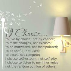 ɛïɜ  I Choose ɛïɜ