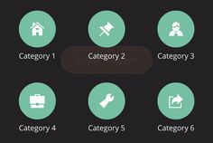 Interaction Design Styles - Bouncy Navigation