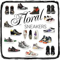 What I LOVE | Floral Sneakers #SoCityChic