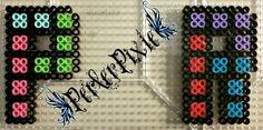 Tetris Letters - P, R by PerlerPixie.deviantart.com on @DeviantArt