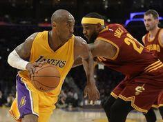 Jan. 15, 2015: LeBron James got the best of Kobe Bryant