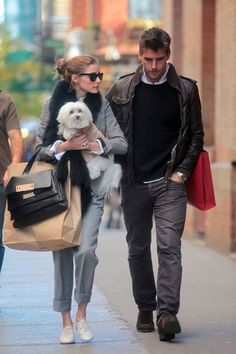 Olivia Palermo# casual street style GG's tiny times ♥