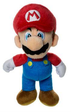 Super Mario Plüschfiguren aus dem berühmten Nintendo-Spiel Größe: ca. 20 cm hoch  http://www.geeky-kids.de/product_info.php?info=p18_super-mario-plueschfigur.html