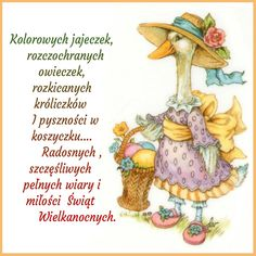 Kartka świąteczna 🐇🐣 Happy Easter Day, Diy And Crafts, Cards, Anna, Humor, Tulips, Easter Activities, Poster, Humour