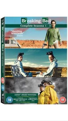 #Breaking bad: #seasons 1-3 - dvd,  View more on the LINK: http://www.zeppy.io/product/gb/2/231840100529/