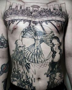 15 Tatuajes inspirados en el arte clásico que no sabías que necesitabas hasta ahora