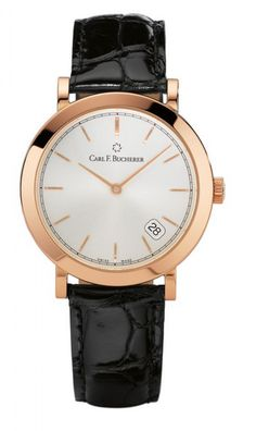 Carl F. Bucherer 00.10307.03.13.01 Adamavi 36 mm - швейцарские женские часы - наручные, золотые, белые