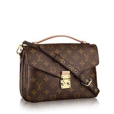 dd90cad690e16 Louis Vuitton Brand New Pochette Metis Brown Cross Body Bag