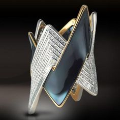 Damiani - bracelet- enamel and diamonds