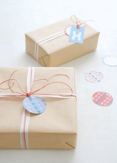 New free printable gift tags available on my blog | Creature Comforts