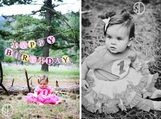 First Birthday Photo Shoot Ideas | First Birthday photo idea