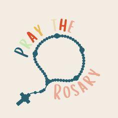 Praying The Rosary, Religious Images, Home Decor, Decoration Home, Room Decor, Home Interior Design, Home Decoration, Interior Design