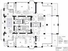 FloorPlan Porn: Here's the Floorplan to Florida's Future Priciest Penthouse    #Miami #BOELMiami