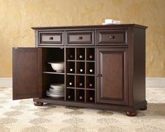 Alexandria buffet server/sideboard cabinet with wine storage by modern marketing: need a buffet? Description from furniturevisit.org. I searched for this on bing.com/images
