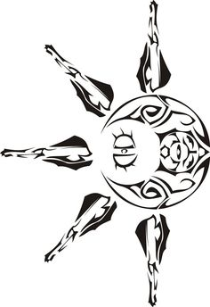 Solrock and Lunatone Tribal Eclipse tattoo Love Tattoos, Tribal Tattoos, Tatoos, Awesome Tattoos, Pokemon Pins, Cool Pokemon, Pokemon Stuff, Tattoo Maori Perna, Tribal Pokemon