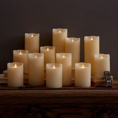 $587.00 Two's Company 15 Pc Dazzler Candle Unit
