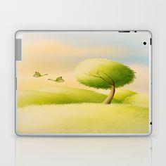 ein schöner Tag Laptop & iPad Skin