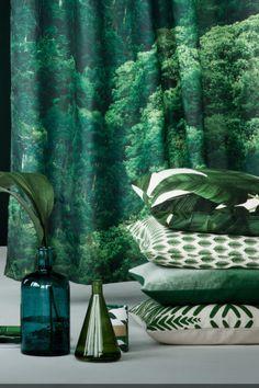 canap vert plantes urban jungle interior green sofa. Black Bedroom Furniture Sets. Home Design Ideas