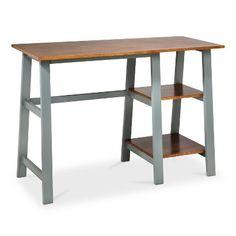 Trestle Desk - Midtone/Gray - Threshold™