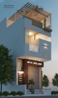 Design Discover Af country style houses by art form architecture country House Outer Design, Modern Small House Design, House Outside Design, House Front Design, Small House Exteriors, Modern House Facades, Modern Exterior House Designs, Indian House Exterior Design, 3 Storey House Design