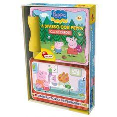 Libro   Cards a spasso con Peppa Pig Prodotto Lisciani Giochi via www.SelfShop.eu. Click on the image to see more!