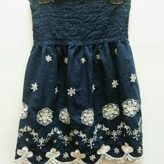 Never worn baby doll top. It's super cute but never got a chance to wear it. Can be worn as a skirt. Skirts