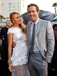 Ryan Reynolds and Blake Lively Married