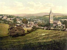 devon england   great britain old photos of tavistock in devon in england
