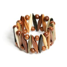 Unique Bracelet gift for women handmade wood by GalleriaCentral, $26.90