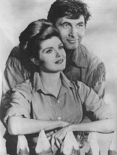 Fess Parker and Patricia Blair
