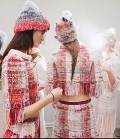 Chanel tweed - how it's made. Living Journey Creations blog