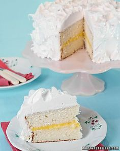 A great white cake recipe. For limoncello cake with limoncello buttercream -  Substitute limoncello for some of the milk (approx. quarter cup).  Skip curd and try a limoncello buttercream to fill and frost.