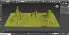 Stereopixol: Create Mountains in 3Ds Max