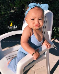Naomi - 11 Months • Brazilian, Cuban & Bahamian ❤ Adorable baby girl with an awesome pout