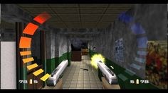 Ken Lobb looks back on the work that went into GoldenEye how his name became a gun's name   Coming from a Game Informer interview with Ken Lobb...  On the early days of creating GoldenEye original Virtua Cop inspiration and utilizing the N64's 4 controller ports...  Lets just say the bigs or the more experienced Rare developers were busy. They also werent super thrilled about making a game with a license. The license had come from Japan from Mr. [Hiroshi] Yamauchi. He started the…