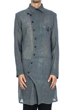 d67b0fe55db Leon Louis - Long washed cotton shirt
