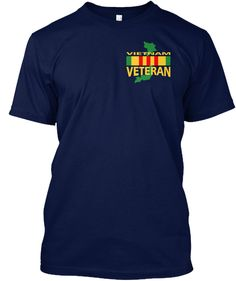 Vietnam Veteran, I Was There Navy Kaos Front