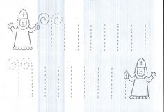 Berle Mikuláše Winter, Kindergarten, Preschool, Projects To Try, Advent, Diagram, Santa, Inspiration, Autism