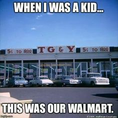 T G & Y.     A Big Dime store. !