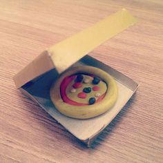 Микропицца из пластилина! #пицца #pizza #handmade #пластилин