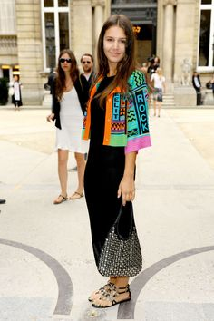Margherita Missoni love the jacket its and love the bright colors and black combination makes the jacket pop out more SarahJM