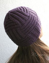 free hat knitting pattern: Circuitry pattern by Agata Smektala Loom Knitting, Knitting Patterns Free, Knit Patterns, Free Knitting, Free Pattern, Crochet Beanie, Knit Or Crochet, Knitted Hats, Crochet Hats