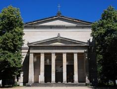 Berlin, Elisabetkirche 1834 von Schinkel